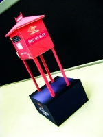 Street Mailbox, Built by Rauf Raphanus